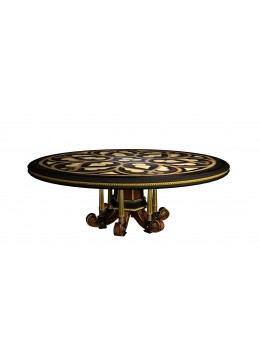 LAURA ROUND DINING TABLE (180 CM D.)