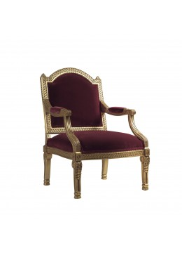 CLASSICO ARMCHAIR, WITH ONE 45*45 CM LOOSE CUSHION, C.O.M.