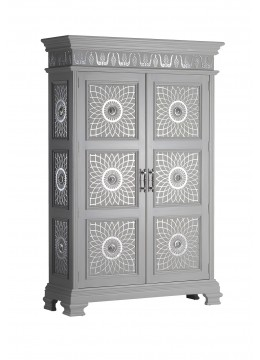 CABINET WIKA,PRINTED LEATHER