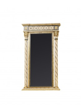SOFIA CARVED WOOD MIRROR,91X160H