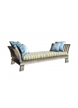 BALI BED,WITHOUT FABRIC,4 (55X55 CM) CUSHIONS,2 PILLOWS, C.O.M.