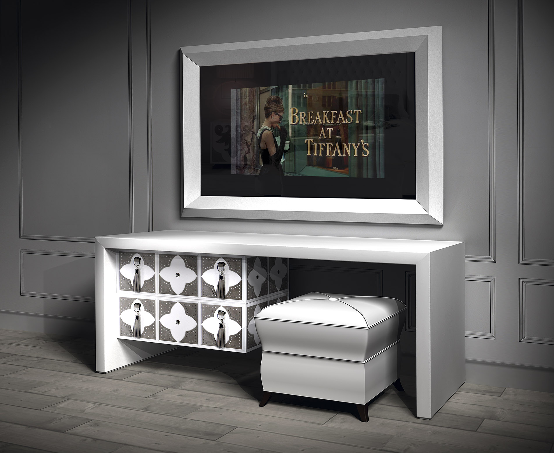 White Gloss Bedroom Furniture White Gloss Dressing Table White
