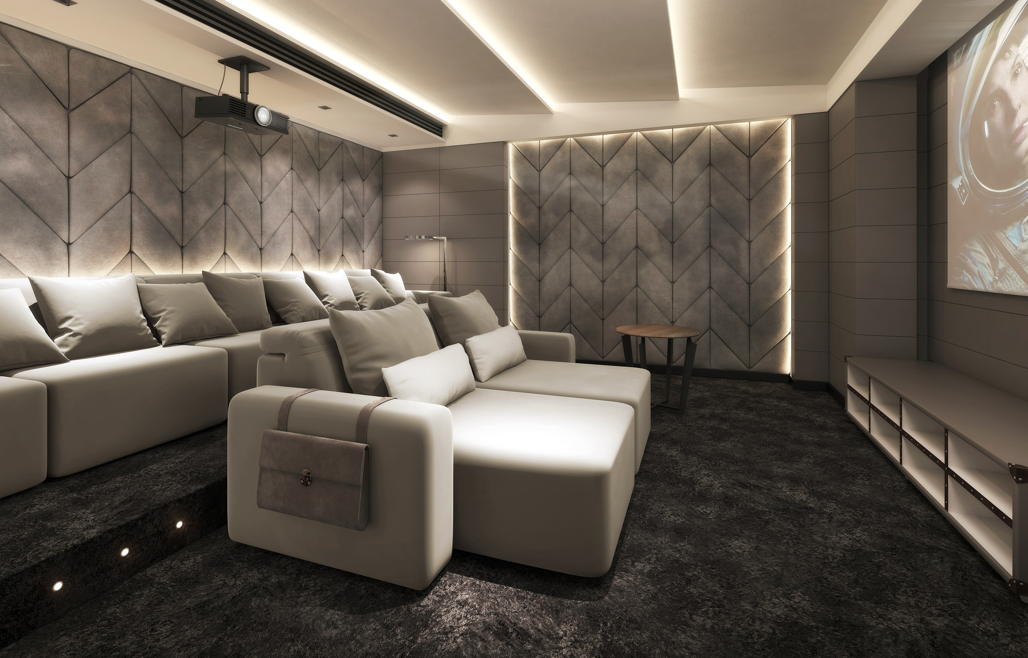luxury home cinema seating home cinema installation. Black Bedroom Furniture Sets. Home Design Ideas