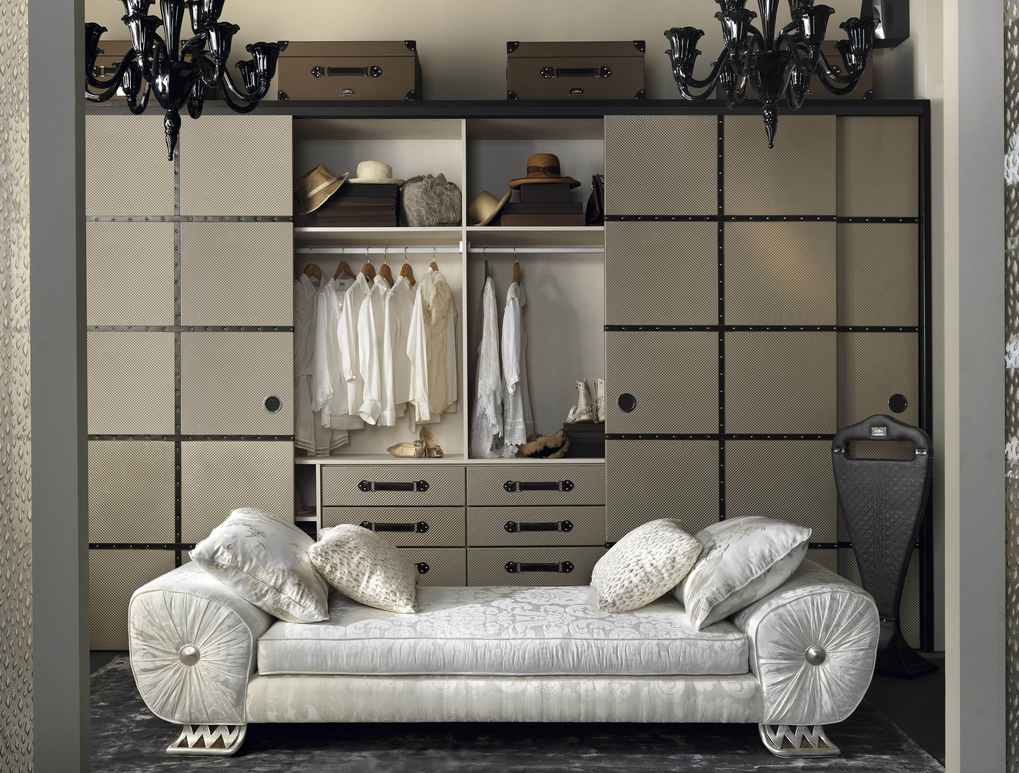 bathroom storage, cloakroom storage, luxury storage