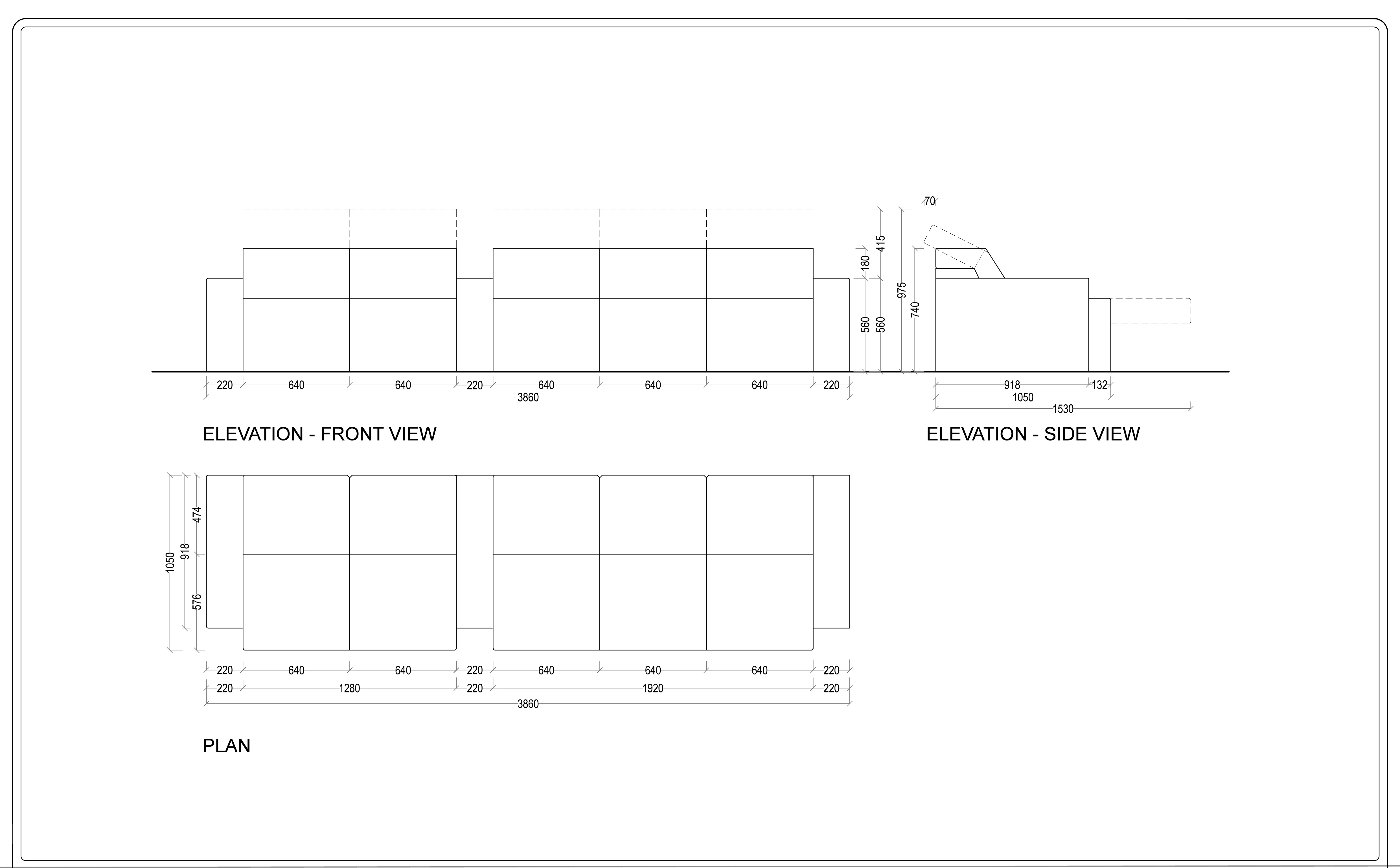 cinema technical drawings, home cinema design, home theatre design