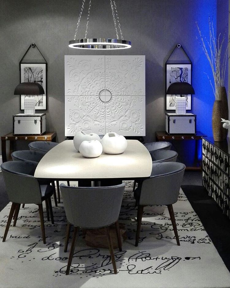 Contemporary Dining Room Sets: Modern Dining Table Modern Dining Room Sets