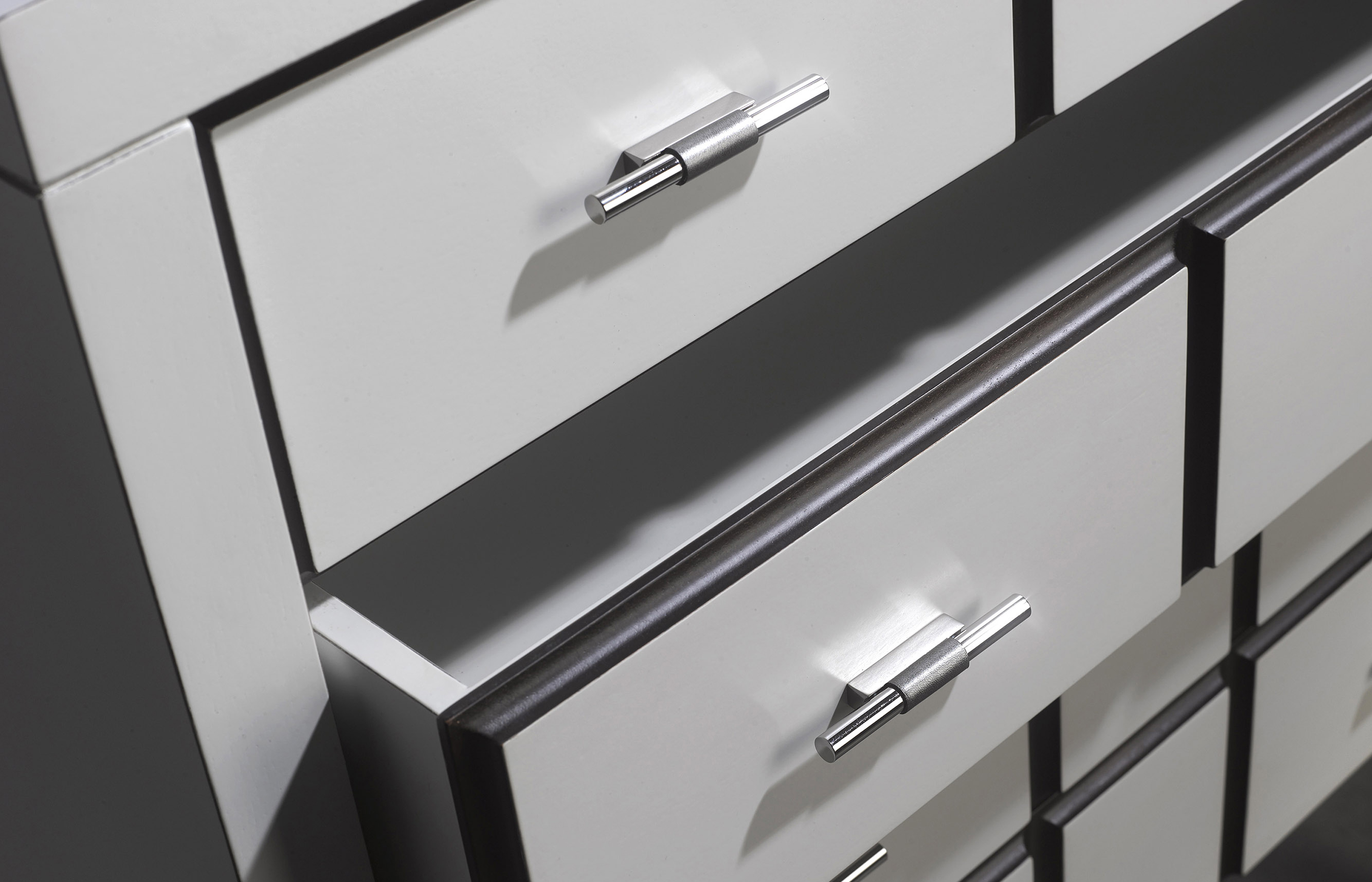 contemporary desk detail, modern desk detail, home office desk detail