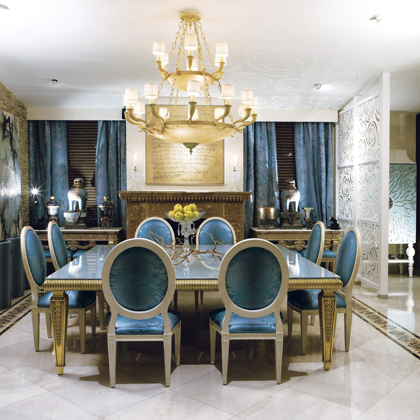 Luxurious Dining Room Sets: Luxury Dining Room Sets