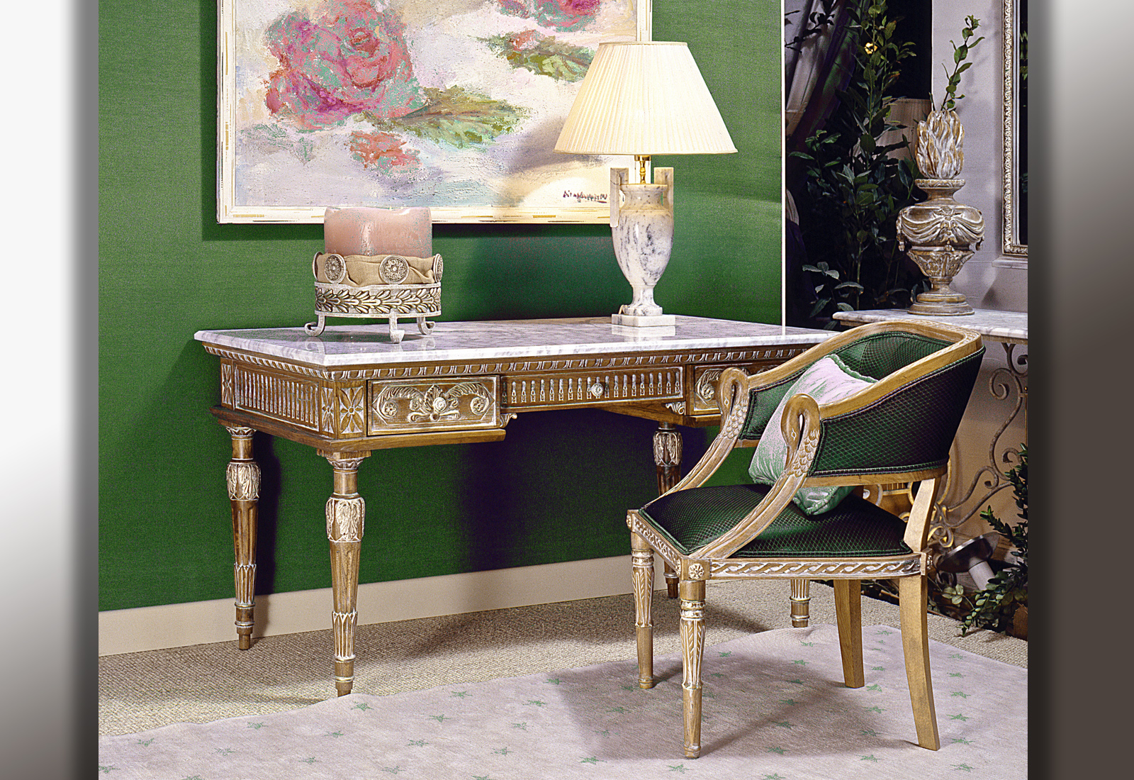luxury office furniture, luxury office desk