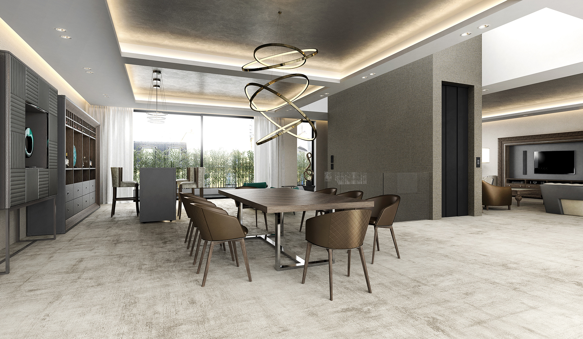 contemporary dining room chairs uk | Luxury Dining Room Sets
