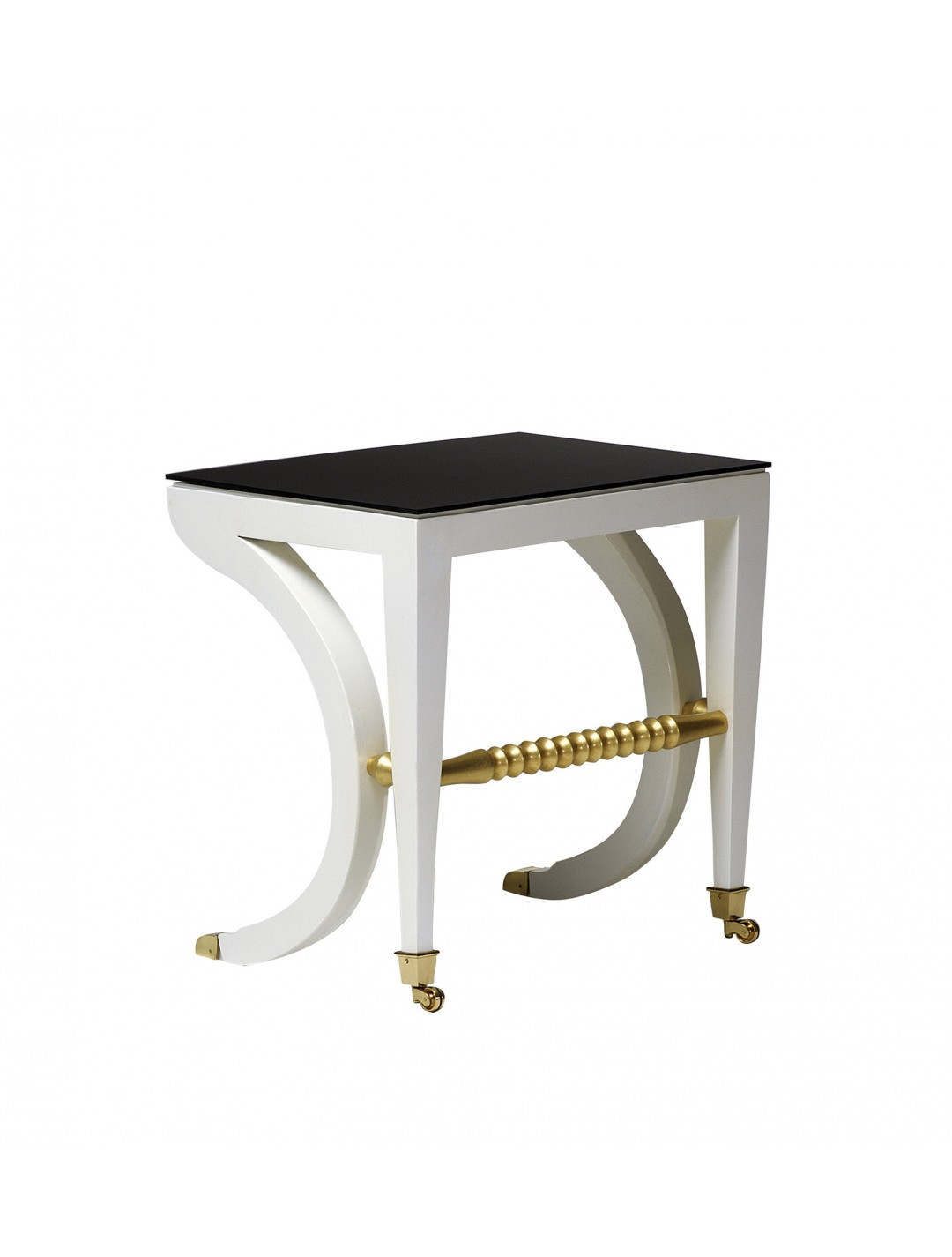 FELIPE BREAKFAST TABLE,  ANTHRACITE PLEXIGLASS TOP