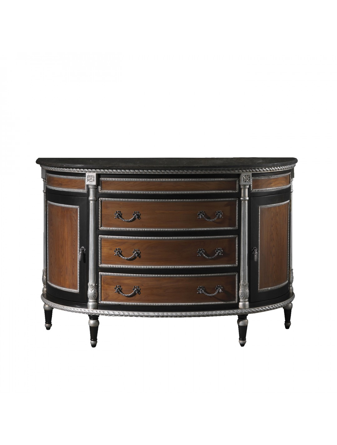 ANGELES SEMICIRCULAR BATH CABINET