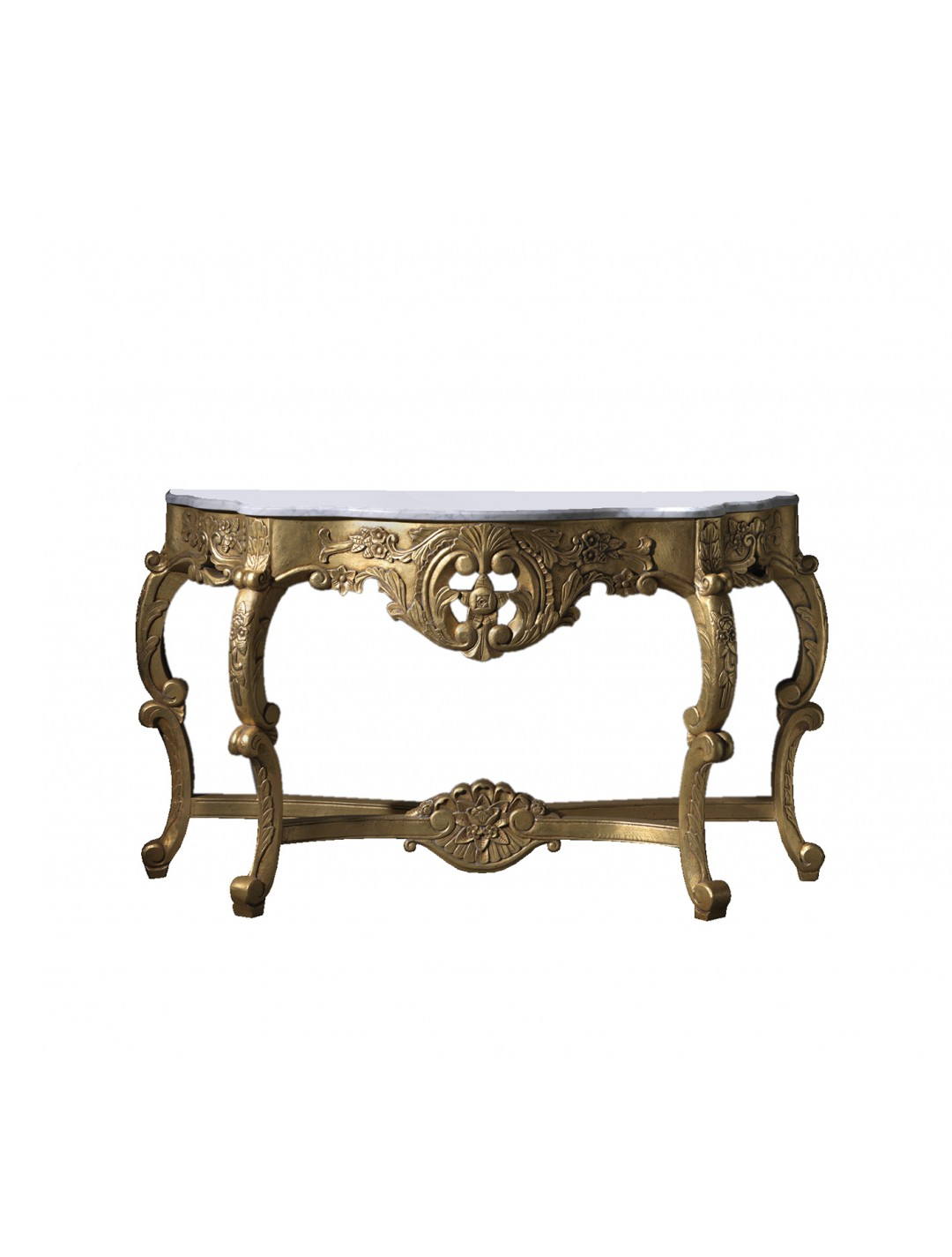 ISABEL CARVED WOOD CONSOLE