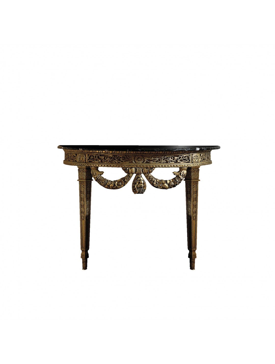 BARROCO CARVED WOOD CONSOLE