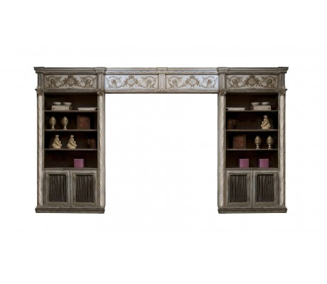 JASMINE BRIDGED BOOKCASE