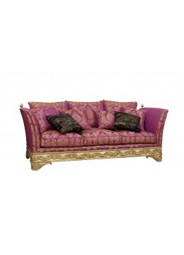 LORENA 3-SEATER SOFA, FOUR 50*50 CUSHIONS INCLUDED, C.O.M.