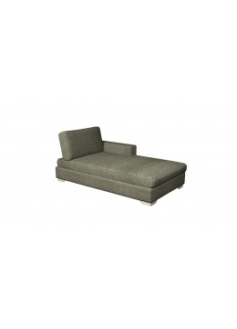 ORSON CL CHAISE LONGUE, UPHOLSTERY: WITHOUT FABRIC , CHROMED ON LEGS, C.O.M.