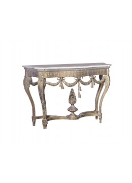 VERONICA CARVED WOOD CONSOLE
